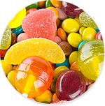 CONFECTIONERIES FOOD RED & YELLOW COLOUR MANUFACTURERS & SUPPLIERS